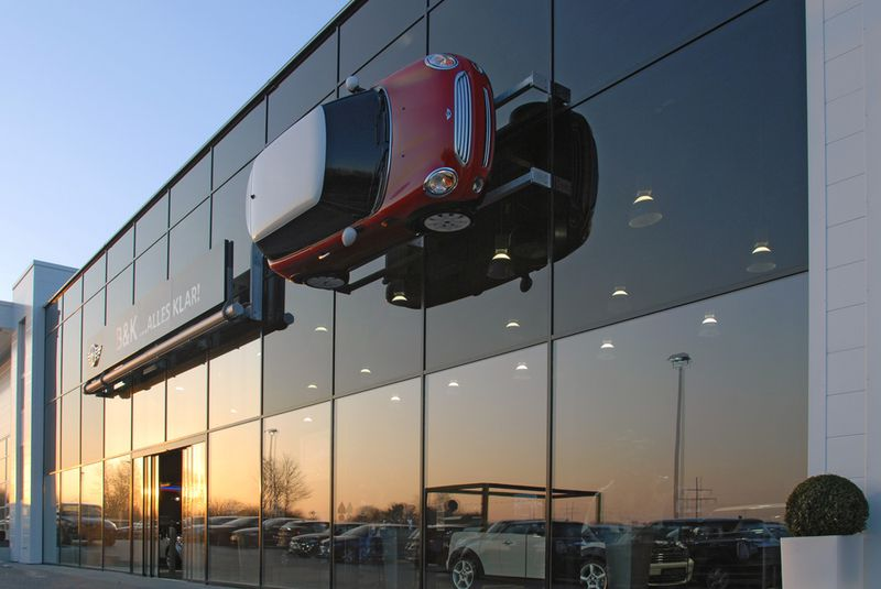 Autohaus BMW, Bad Homburg: IGK Krabbe